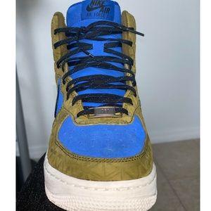 Nike Shoes - W Air Force 1 HI PRM Suede